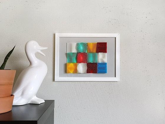 Декоративни 3Д Букви