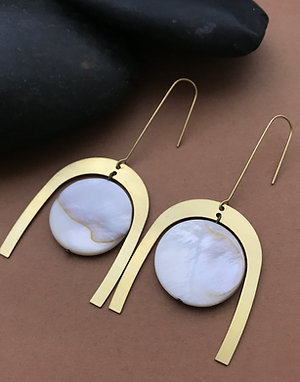 Milk Moon Earrings