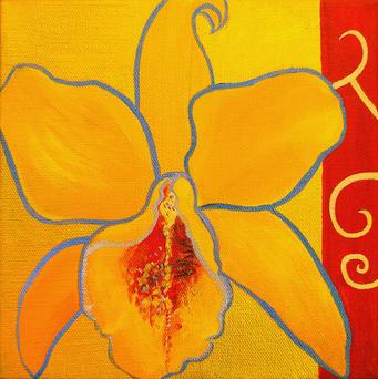 Nouveau Orchid