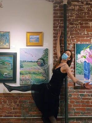 Summer Solstice at Rodale wins 2nd place at the 2020 Juried Berks Art Alliance Show at Goggleworks