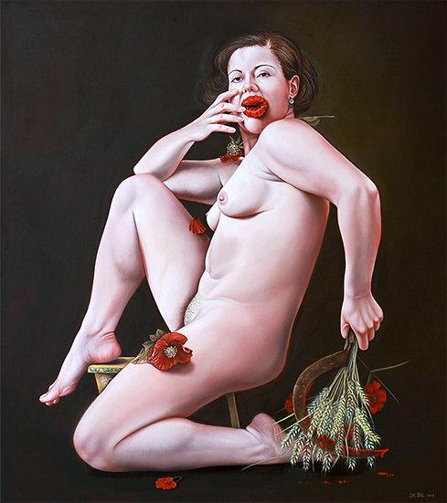 "Artprint ""Sommer Kuss"" 30 x 34 cm"