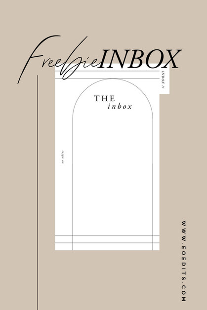 FREEBIE! Inbox