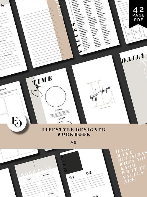 Lifestyle Designer Workbook - A6