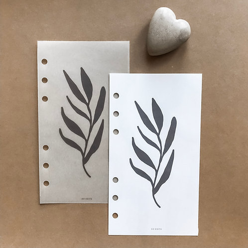 Bold Leaf - The Wildheart Collection - A6