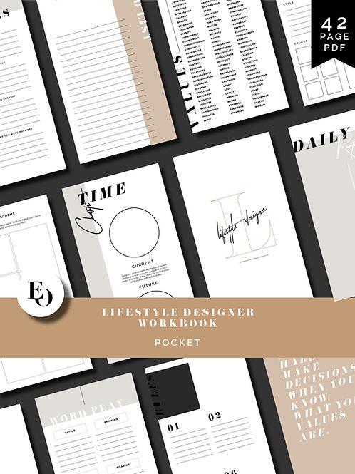Lifestyle Designer Workbook - Pocket