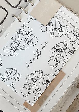 Dream Floral Card