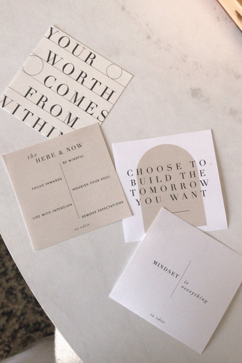 """3"""" Planner Cards - April 2021"""