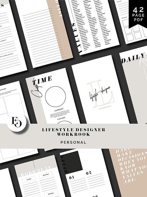 Lifestyle Designer Workbook - Personal