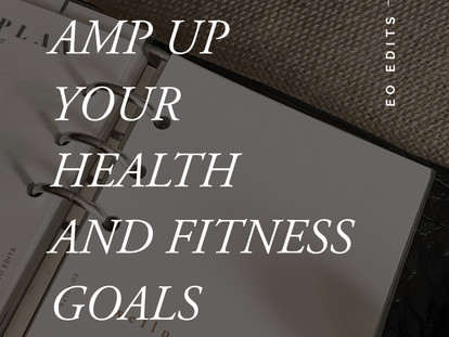 Amp Up Your Health & Fitness Goals: How to Use the Wellness Planner