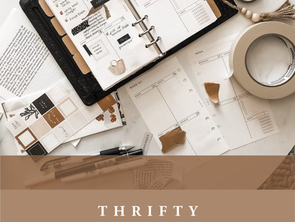 Thrifty Planner Decor - 3 Items You Probably Already Own