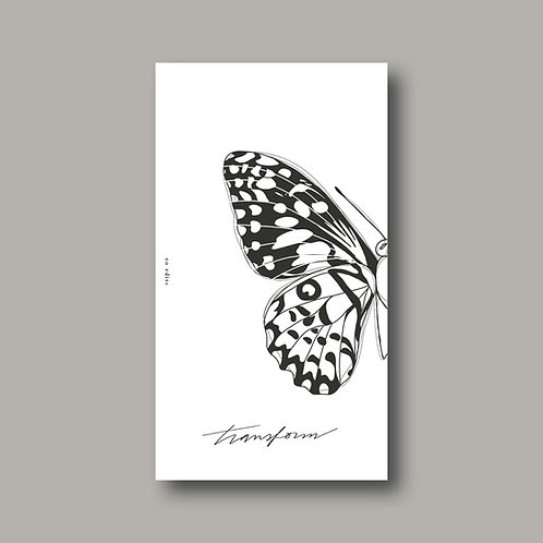 Butterfly Dashboard Set - A6