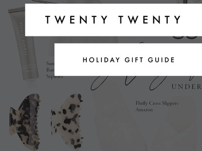 2020 Gift Guide!