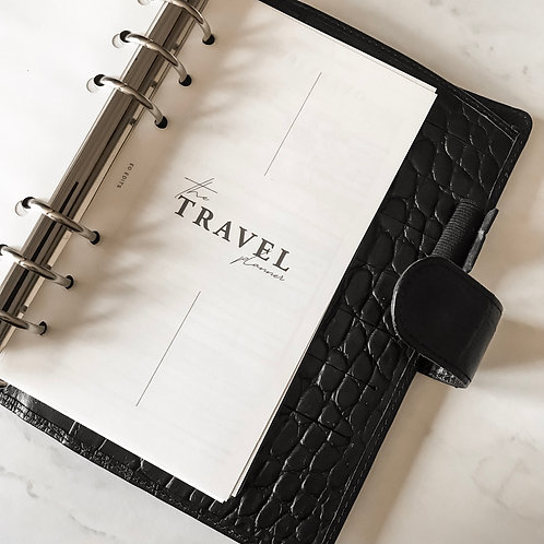 The Travel Planner - A5