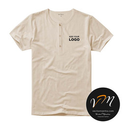 Customized Henley t-shirts