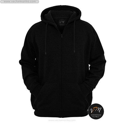 cotton black hoodie, personalized zipper hoodie online, custom sweatshirts, cotton sweatshirts in bulk India, 400 GSM hoodies