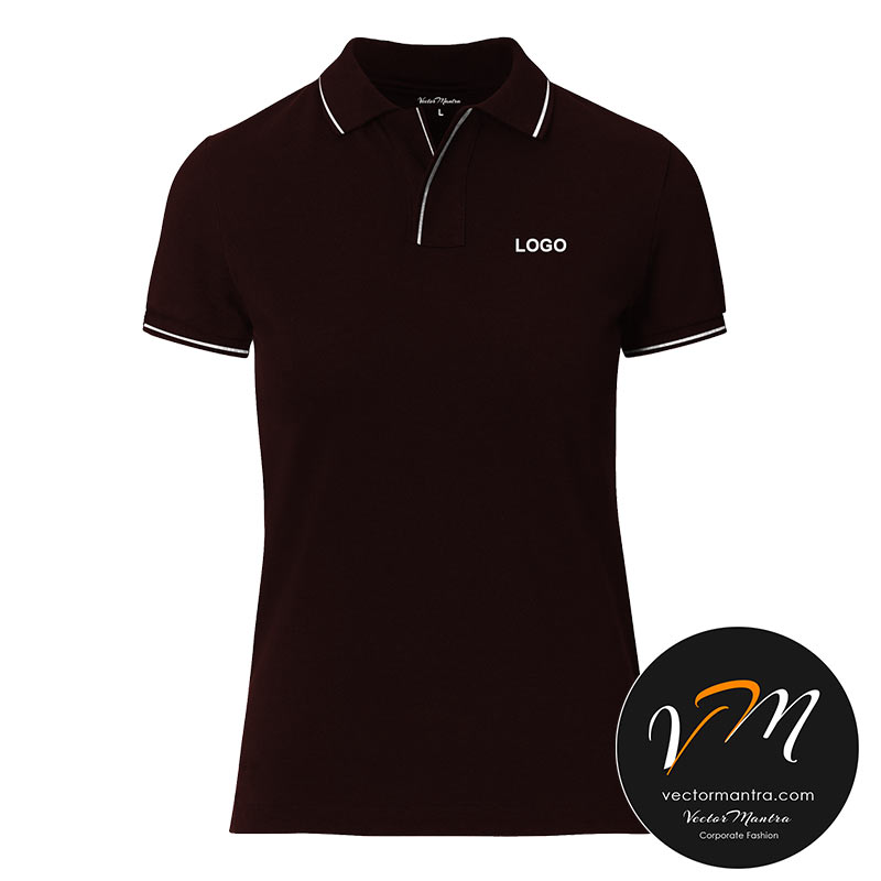 Customized maroon t-shirt printing