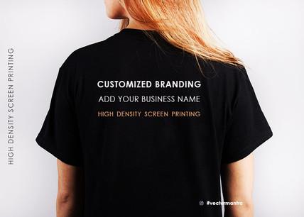 custom t shirt for BUSINESS BRANDING AND MERCHANDISE | Vector Mantra