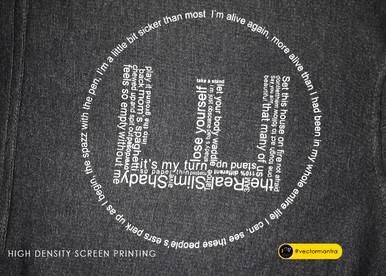 High Density screen printed hoodie designs   Vector Mantra   India