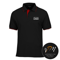 Black collared t-shirts in Bnagalore