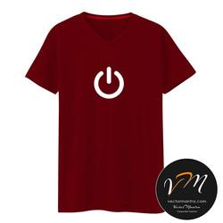 Power t-shirt online, 100% cotton