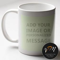 Customized glow in dark mug printing