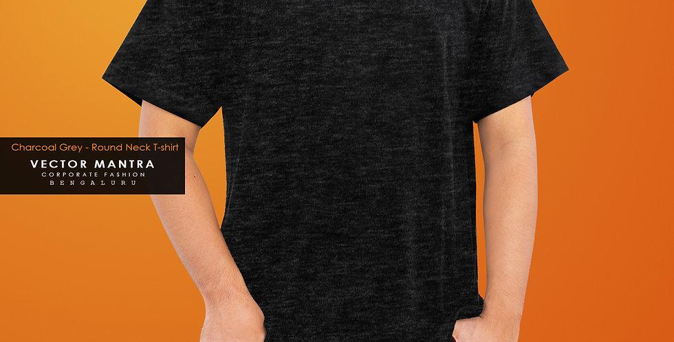 buy custom charcoal grey t shirts online, premium cotton t shirt printing in bulk, college t shirts in bulk, t shirt printing