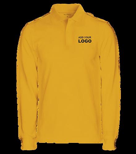 Full sleeve Polo t shirt, Customized long sleeve polo t shirt, Men's and women's t shirt, t shirt printing Bangalore