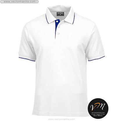 Collared T-shirt Online India, Polo T-shirt embroidery vectormantra.com bengaluru Karnataka, cotton t-shirts online india
