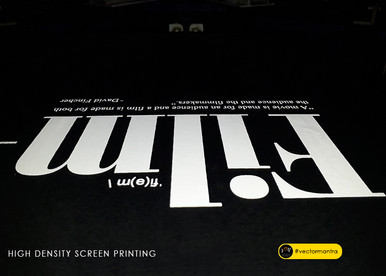 Custom screen printed photography design on cotton round neck t-shirts in bulk   Vector Mantra   India