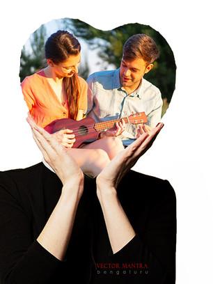 Photo Printed Rock Photo Frames