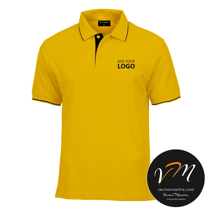 yellow cotton t-shirts online India
