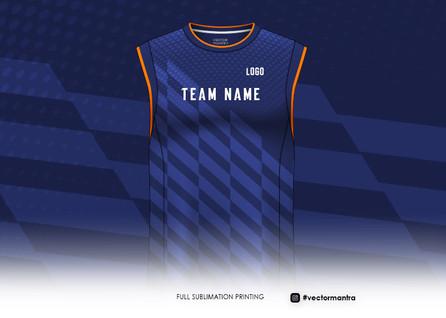 Sports half sleeve sublimation print