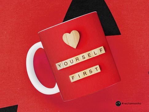 Self Love Mug Design