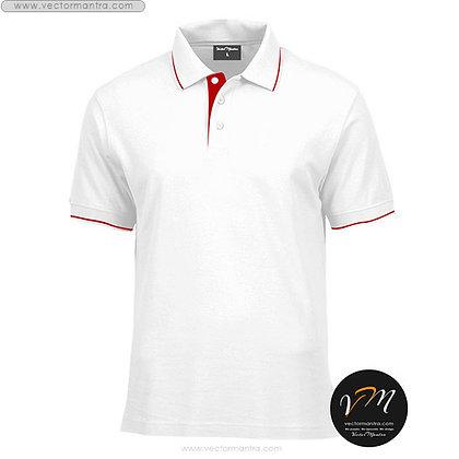 polo neck t-shirts vectormantra.com bengaluru, Karnataka, t-shirt with collar, tshirt embroidery, t shirt manufacturer India