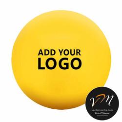 Custom stress balls logo printed