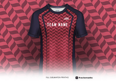 Full sublimation printed round neck jersey online