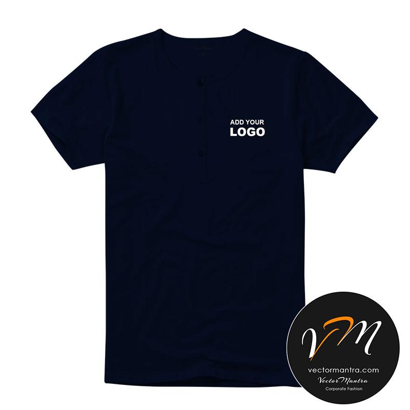 Henley t-shirt online in bulk