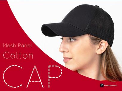 Premium 6 Panel Caps with Mesh