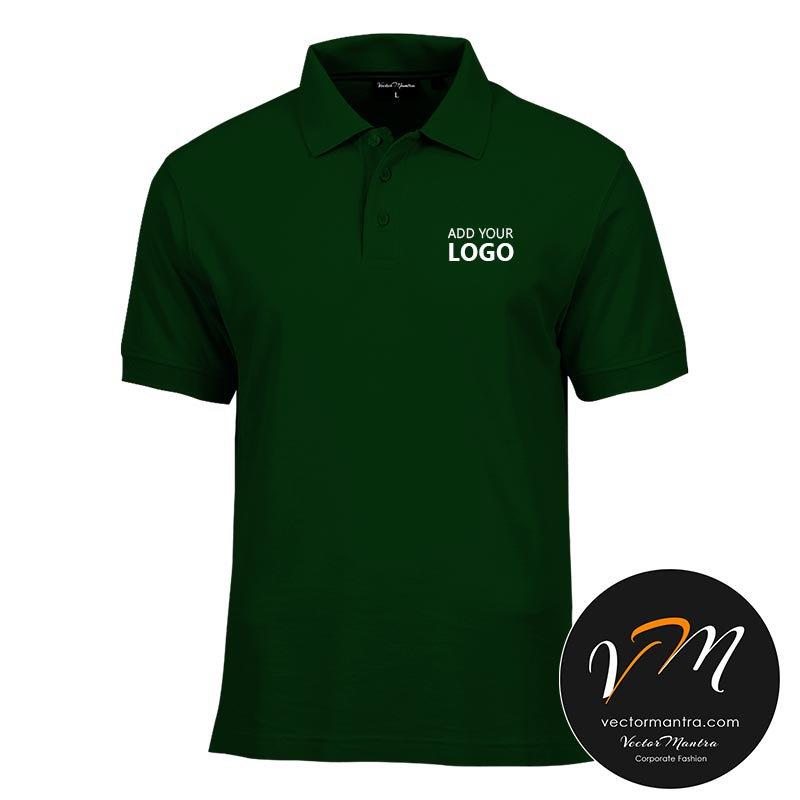 Custom Polo T Shirts Online T Shirt Printing In Bulk Vector Mantra India