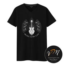 Music t-shirt online, Cotton t-shirt