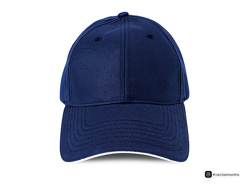 navy blue cap front view, customized cap embroidery, promotional caps in bulk, cap with logo branding, shop cap in bulk india