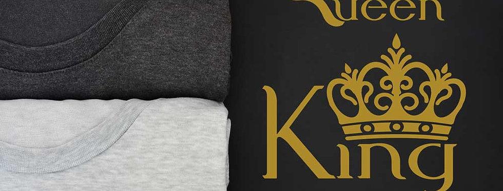 couple t shirts, customized couple t shirts, king and queen t-shirts online, couple T-shirts online, couple t shirt printing