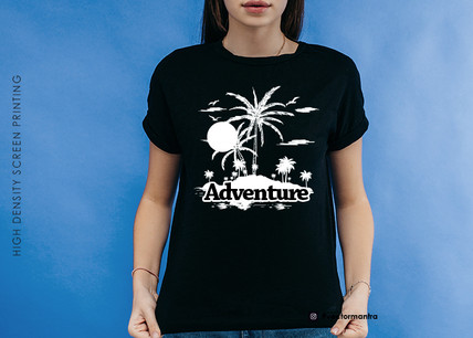 Customized Group Adventure Tees in Bulk | 180 GSM Cotton T-shirts | Vector Mantra