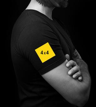 Right Sleeve Print on T-shirt