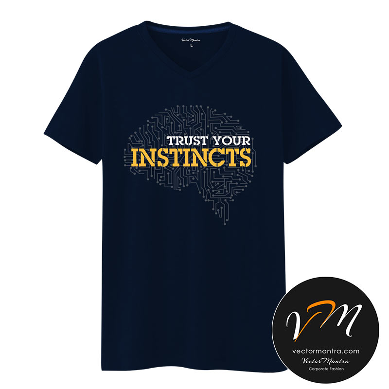 Trust your instincts Cotton t-shirt