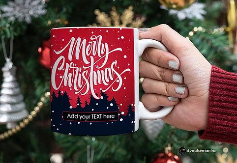 Christmas mugs online, christmas day mug printing, custom individual mugs, merry christmas printed mugs, mug printing india,