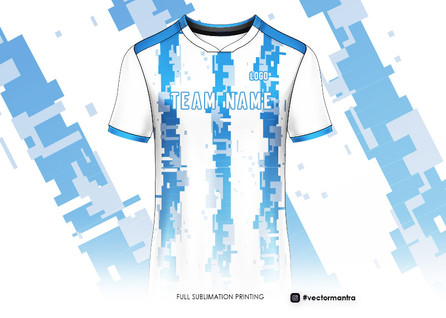 Sportswear pattern designs and printing vector mantra