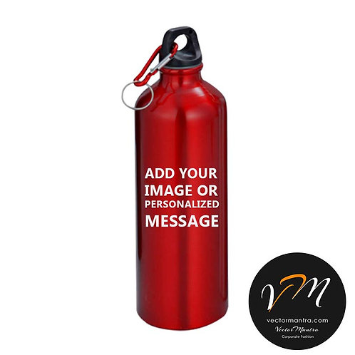 custom metal sippers, customized steel sippers, logo printed matte sippers, aluminium sippers bangalore, metallic sippers,