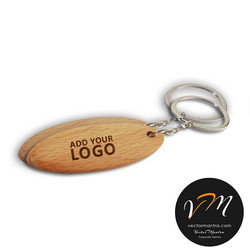 Customized wooden key chains online