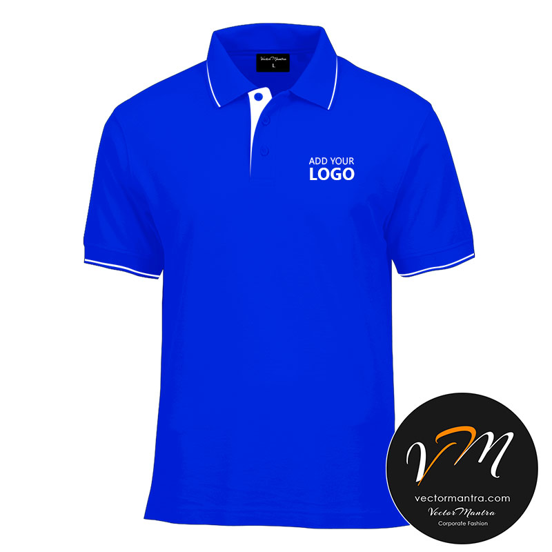 Royal Blue polo T-shirts